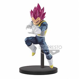 Figura Banpresto Dragon Ball: Super Saiyan God Vegeta 13cm