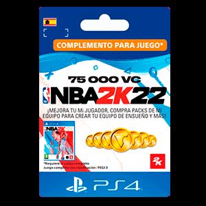 NBA 2K22 75.000 VC PS4