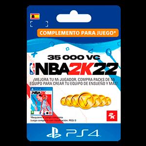 NBA 2K22 35.000 VC PS4