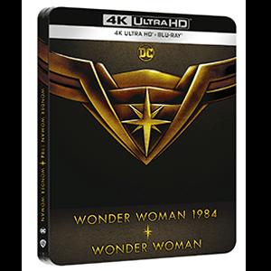 Wonder Woman + Wonder Woman 1984 4K + BD Edición Steelbook