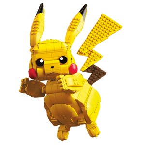 Figura Megaconstrux Pokemon: Pikachu