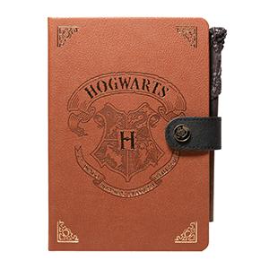 Cuaderno A5 Con Bolígrafo Varita Harry Potter