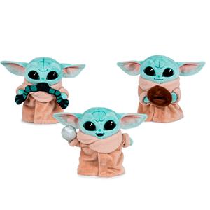 Peluche Baby Yoda Child Mandalorian Star Wars 17cm surtido