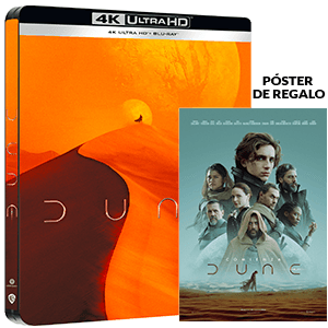Dune 2021 4K + BD Edición Steelbook
