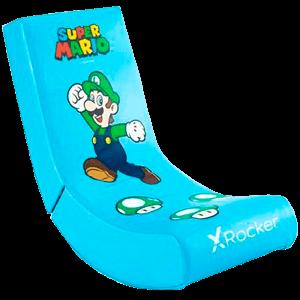 Silla X Rocker - Super Mario ALL-STAR Collection - Luigi (REACONDICIONADO)