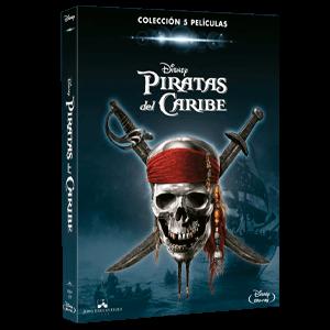 Pack Piratas del Caribe 1-5