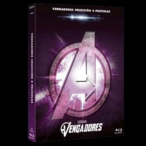 Pack Vengadores 1-4 + Disco Bonus