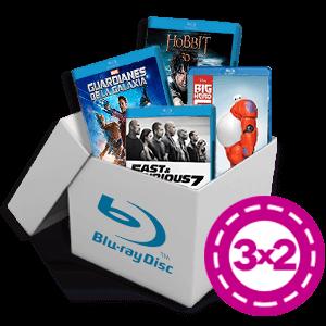 3x2 en selección de películas Blu-Ray