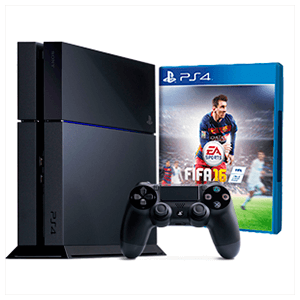 Playstation 4 1Tb + FIFA 16