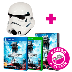 Star Wars Battlefront (PS4, Xbox One o PC) + Casco Stormtrooper
