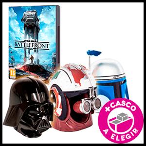 Star Wars: Battlefront + Casco Star Wars de regalo