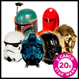 Cascos Star Wars 2x20€