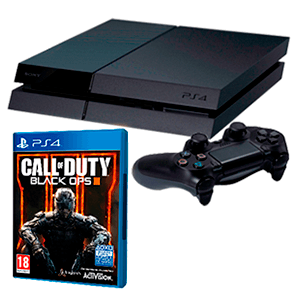 PlayStation 4 500Gb + Call of Duty Black Ops III