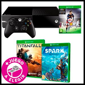 Pack Xbox One 500Gb + Juego a Elegir