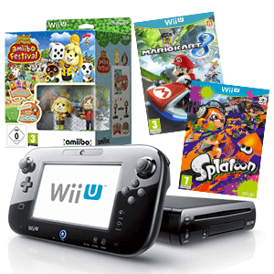 Pack Consola WiiU a Elegir + Animal Crossing Amiibo Festival