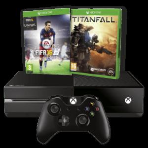 Xbox One 500Gb + FIFA 16 + Titanfall