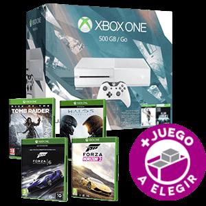 Xbox One 500Gb Blanca + Quantum Break + Juego a elegir