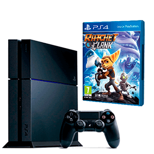 Playstation 4 500GB + Ratchet & Clank
