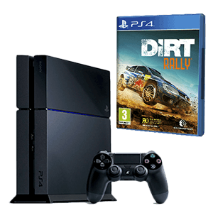 Playstation 4 500Gb + Dirt Rally