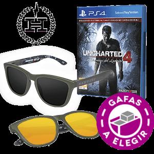Uncharted 4 + Gafas Hawkers x Uncharted 4