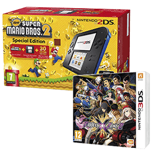Pack Nintendo 2DS + Project X Zone 2