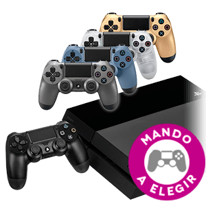 PlayStation 4 + Controller DualShock 4 a elegir