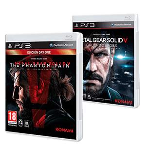 Metal Gear Solid V The Phantom Pain + MGSV: Ground Zeroes