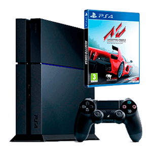 PlayStation 4 500Gb + Assetto Corsa