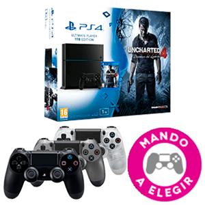 PlayStation 4 1Tb + Uncharted 4 + DualShock 4 de regalo