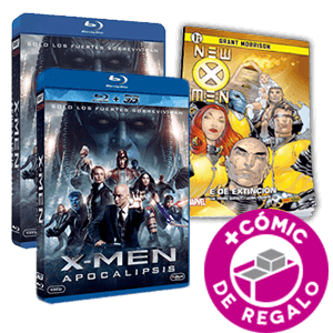 BluRay X-Men Apocalipsis + Comic de Regalo