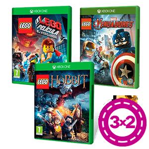 3x2 en Juegos LEGO Xbox One