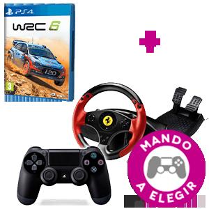 WRC 6 + Controller a Elegir
