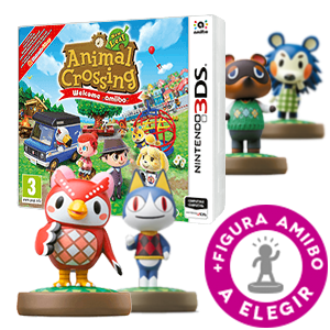 Animal Crossing: New Leaf + Figura amiibo a elegir