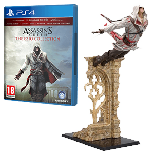 Juego Assassin's Creed a elegir + Figura Assassin's Creed a elegir
