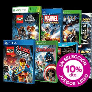 10% de descuento en Juegos LEGO
