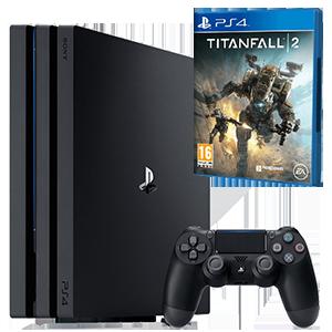 PlayStation 4 Pro 1Tb + Titanfall 2