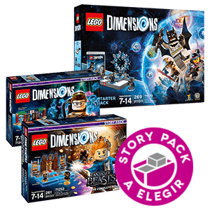 LEGO Dimensions Starter Pack a Elegir + Story Pack a Elegir