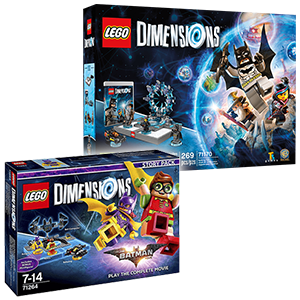Lego Dimensions + Story pack: Lego Batman Movie