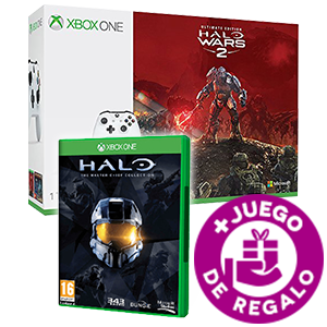 Xbox One S 1Tb + Halo Wars 2 + Halo Master Chief Collection