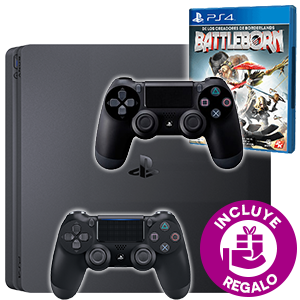 PlayStation 4 + 2º DualShock 4 + Battleborn