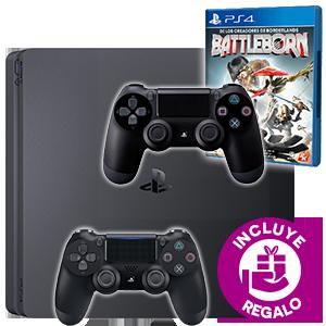 PlayStation 4 + 2º DualShock 4 + Battleborn