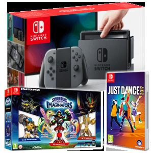 Nintendo Switch + Skylanders Imaginators + Just Dance 2017