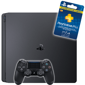 PlayStation 4 a elegir + 3 Meses PlayStation Plus de regalo