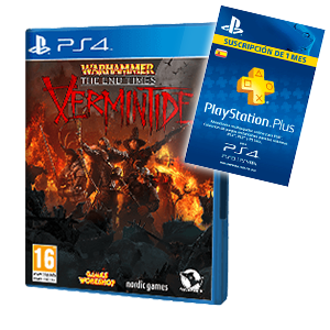 Warhammer:The End Times Vermintide + 1 Mes PS Plus de regalo