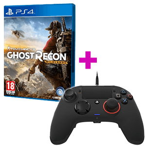 Controller Nacon Revolution + Ghost Recon Wildlands