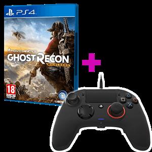 Controller Nacon Revolution + Ghost Recon Wildlands