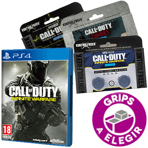 COD Infinite Warfare + Kontrolfreek PS4