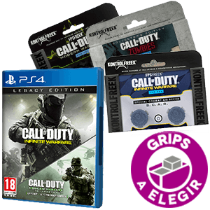COD Infinite Warfare Legacy + Kontrolfreek PS4