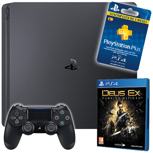 Playstation 4 a elegir + Deus Ex + 3 meses PS PLUS