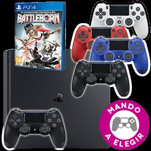 PlayStation 4 500GB + Battleborn + Dual Shock 4 V2 a elegir